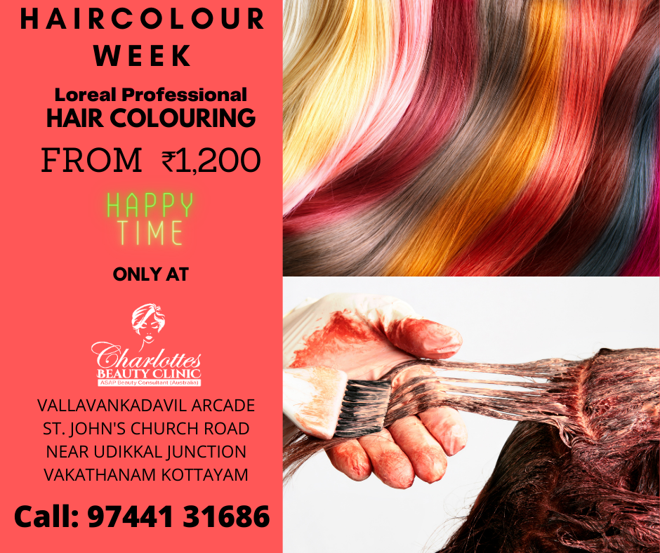 Hair Colouring Offer